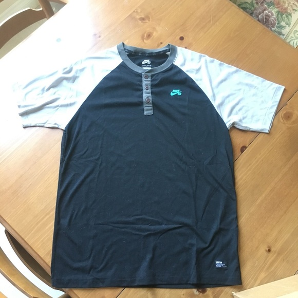 f54c4b7c Nike Shirts | Sb Dri Fit Henley | Poshmark